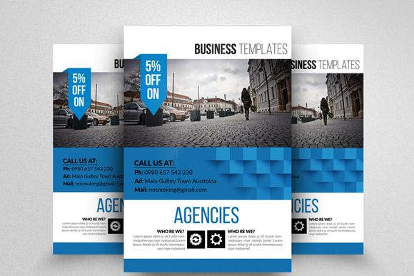 Editable Business Flyer Templates Free Printable