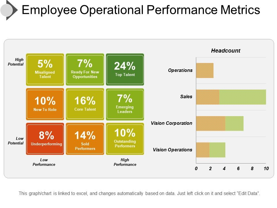 Employee Performance Metrics Template