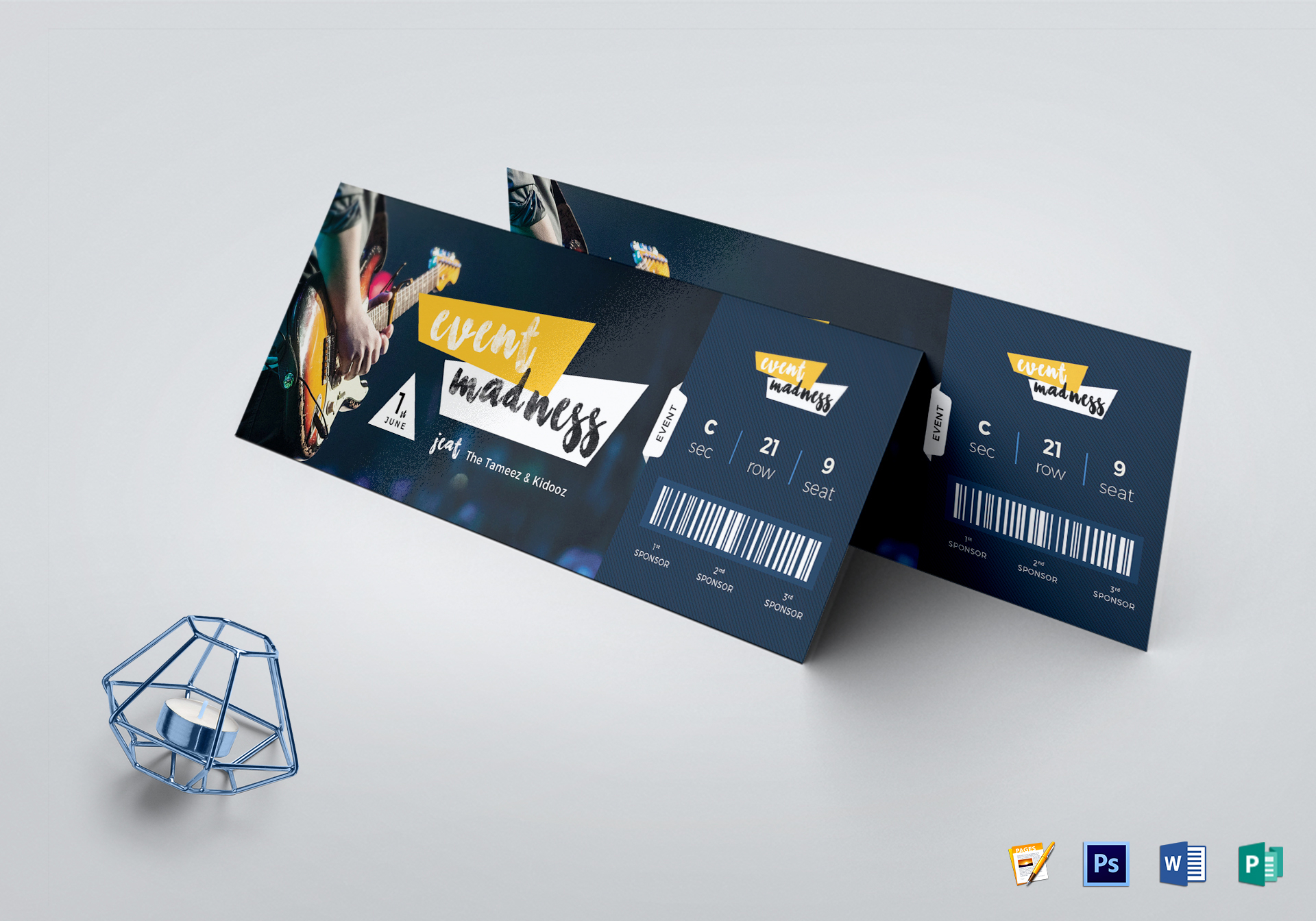 Event Ticket Template Publisher