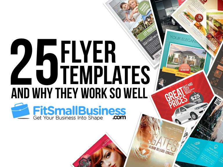 Small Business Flyer Template Inspirational Top 25 Flyer Templates For Small Businesses