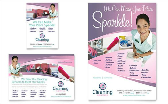 Flyers For Cleaning Business Templates