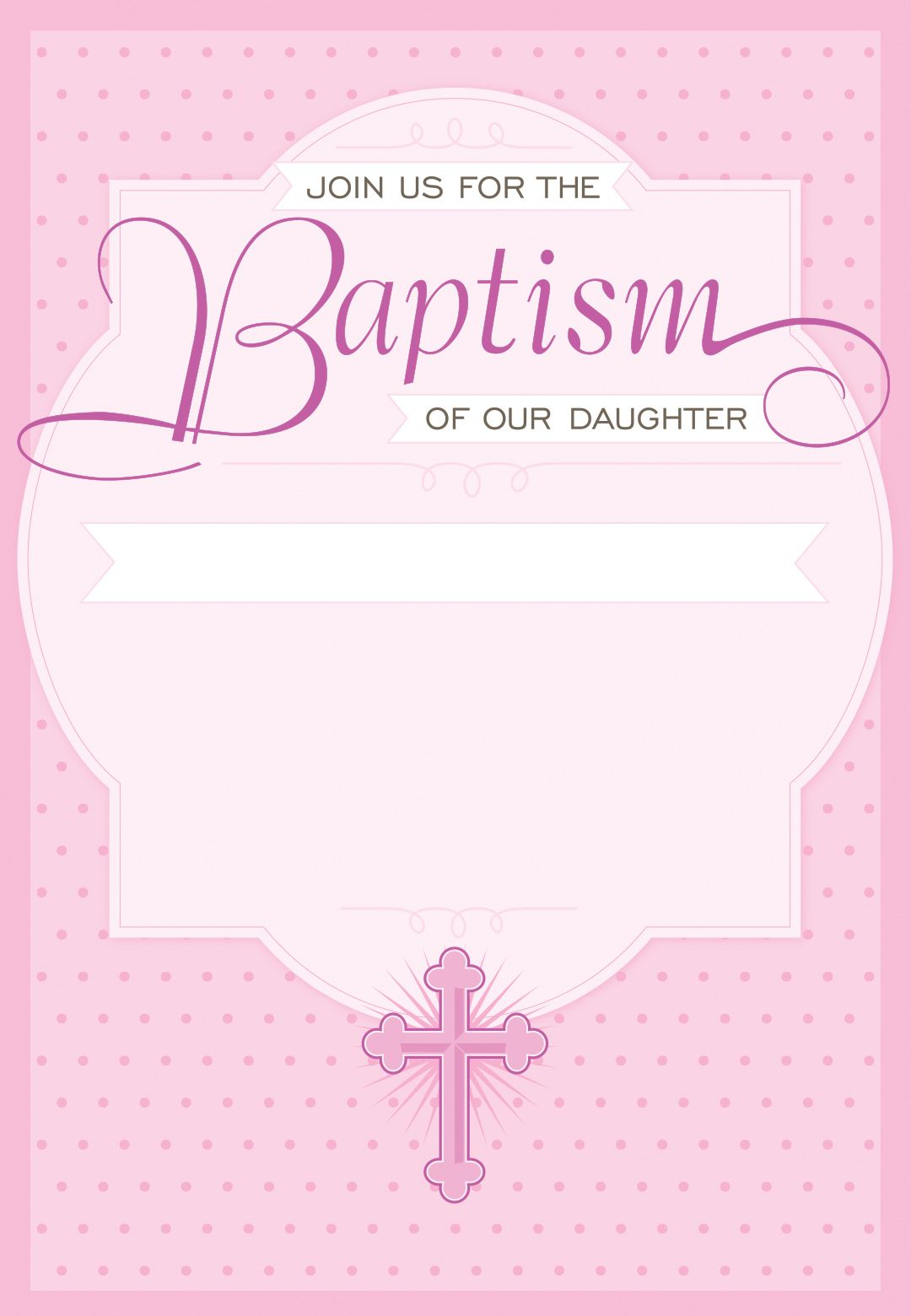 Free Baptism Invitation Templates In Spanish