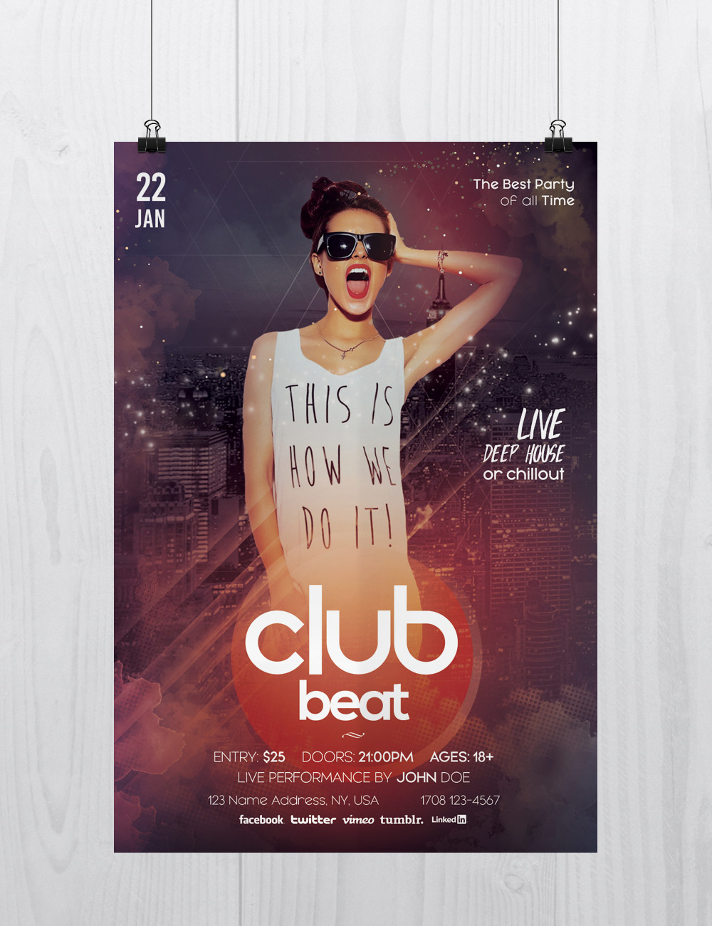 Free Flyers Templates Psd Download