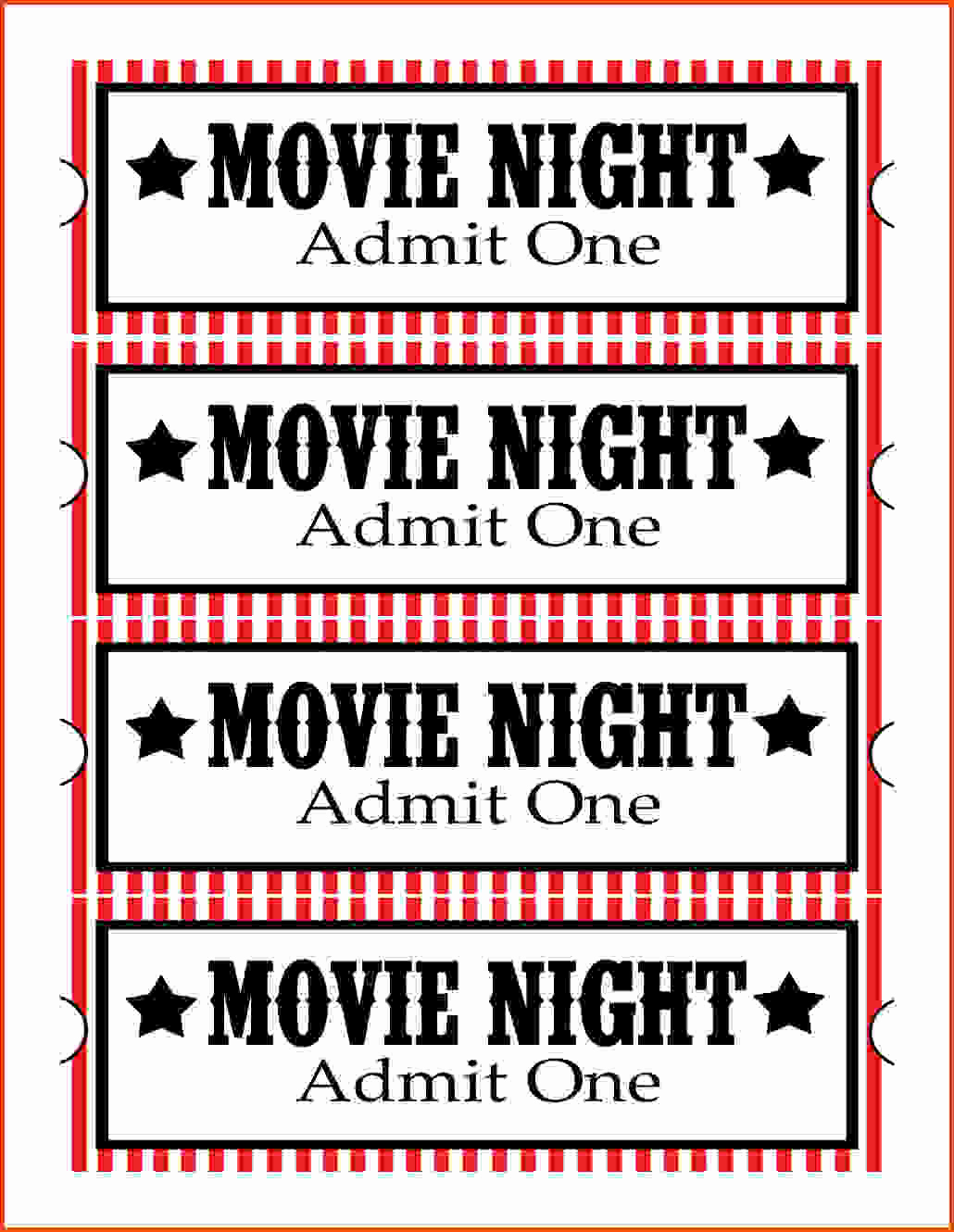 Blank Movie Ticket Invitation Template Elegant 28 Collection Of Free Printable Movie Ticket Clipart