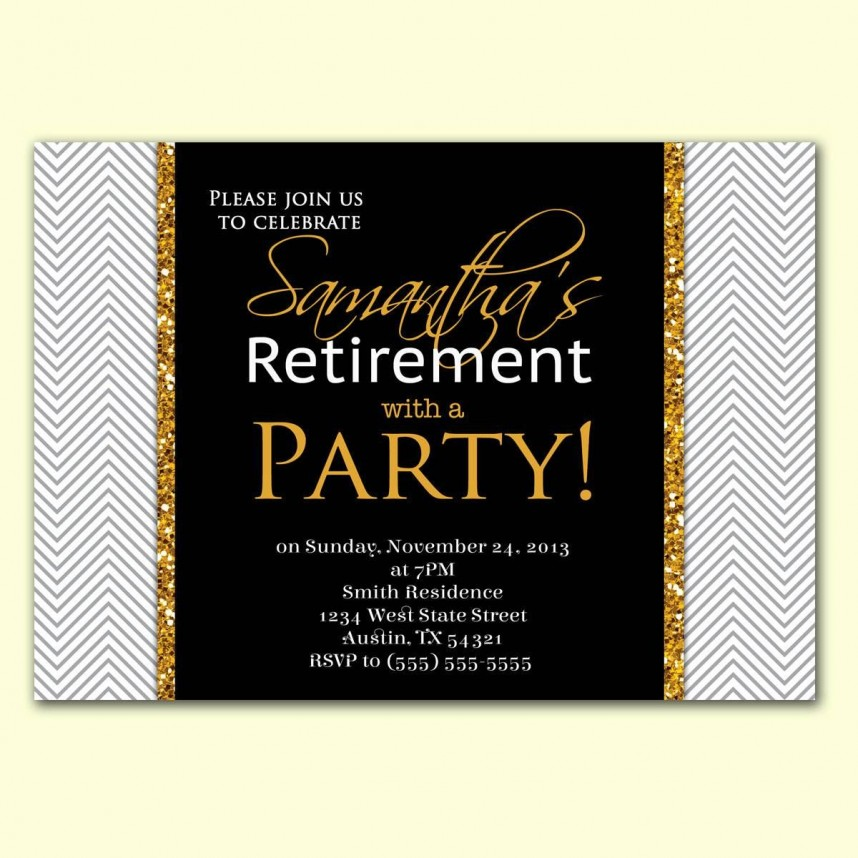 Free Retirement Announcement Templates For Word