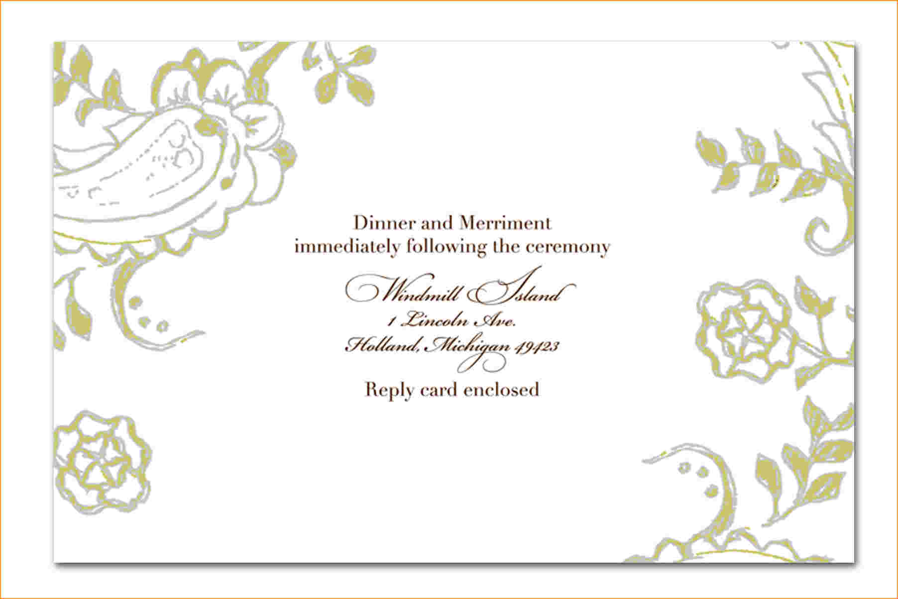 Collection Of Thousands Of Invitation Templates From All Over The World.