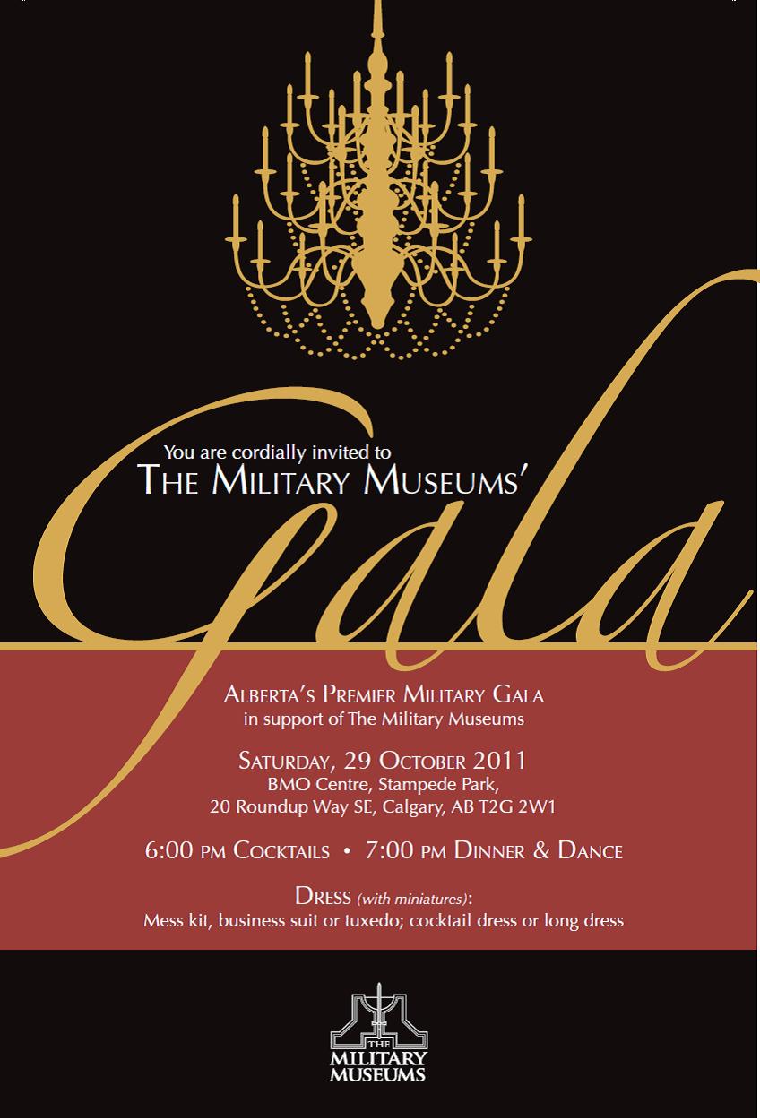 Gala Event Invitation Templates