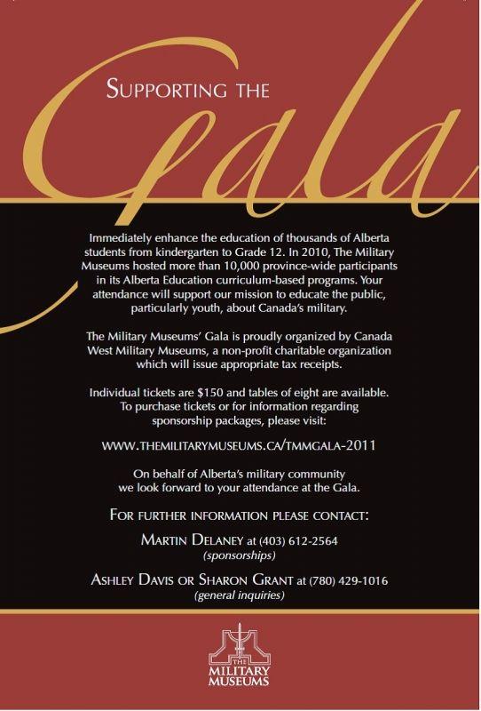 Gala Invitation Template Free