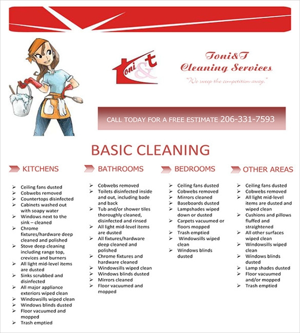 20 House Cleaning Flyer Templates In Word Psd Eps Vector Format