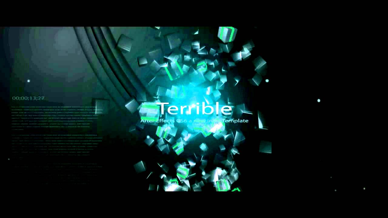 Intro Template Adobe After Effects