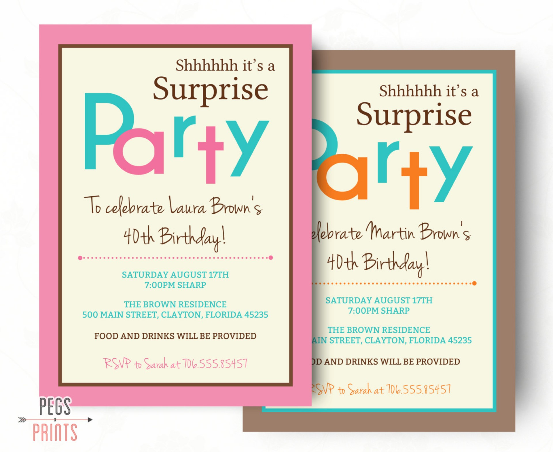 Invitation For 70th Birthday Party Templates