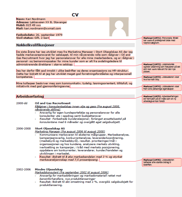 Job Application Blank Cv Template