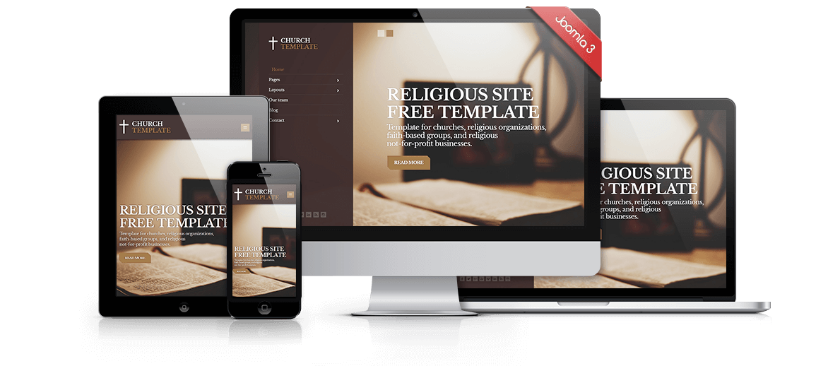 Joomla Church Templates