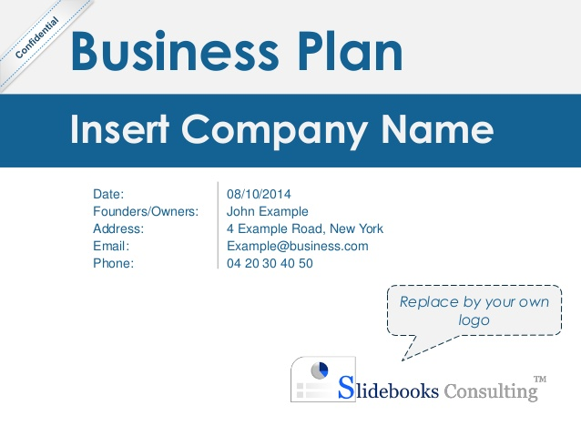 Mckinsey Business Plan Template