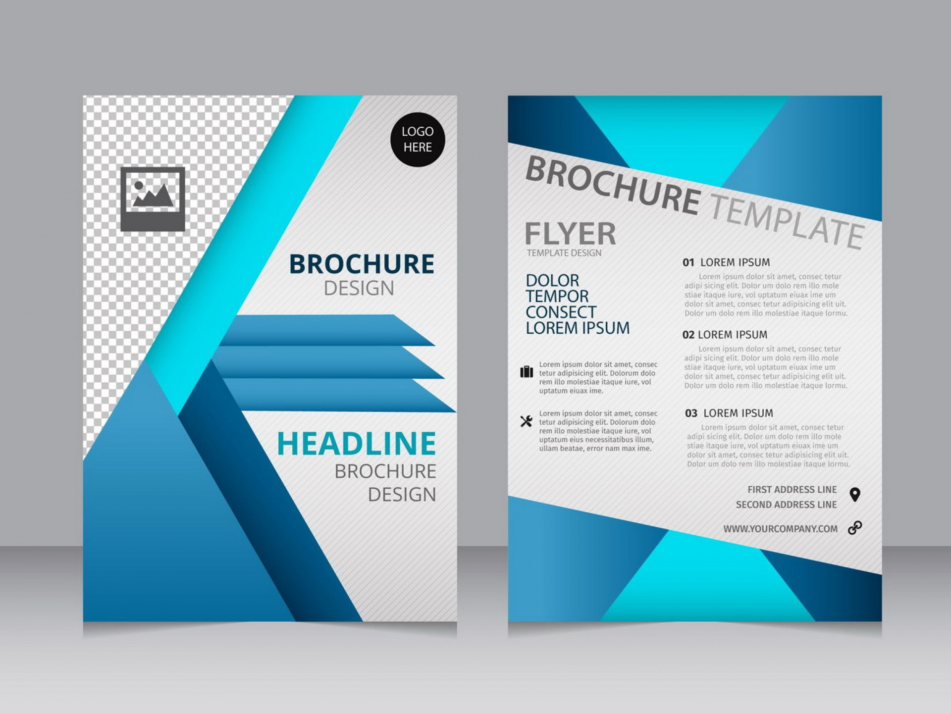 Microsoft Word Blank Brochure Templates Free Download Word