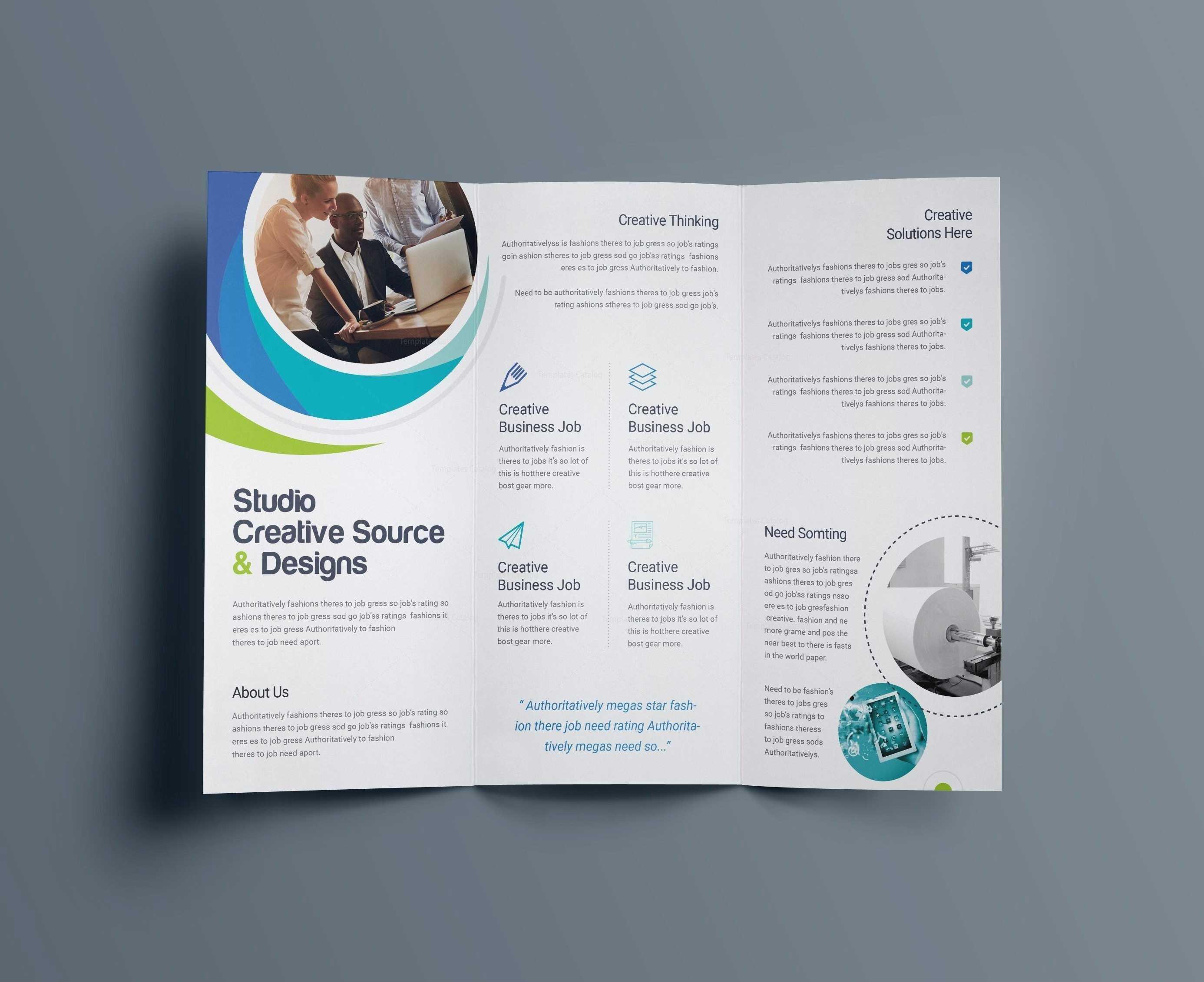 Microsoft Word Funeral Brochure Template