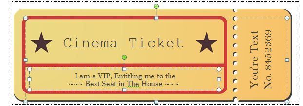 Movie Ticket Templates Free