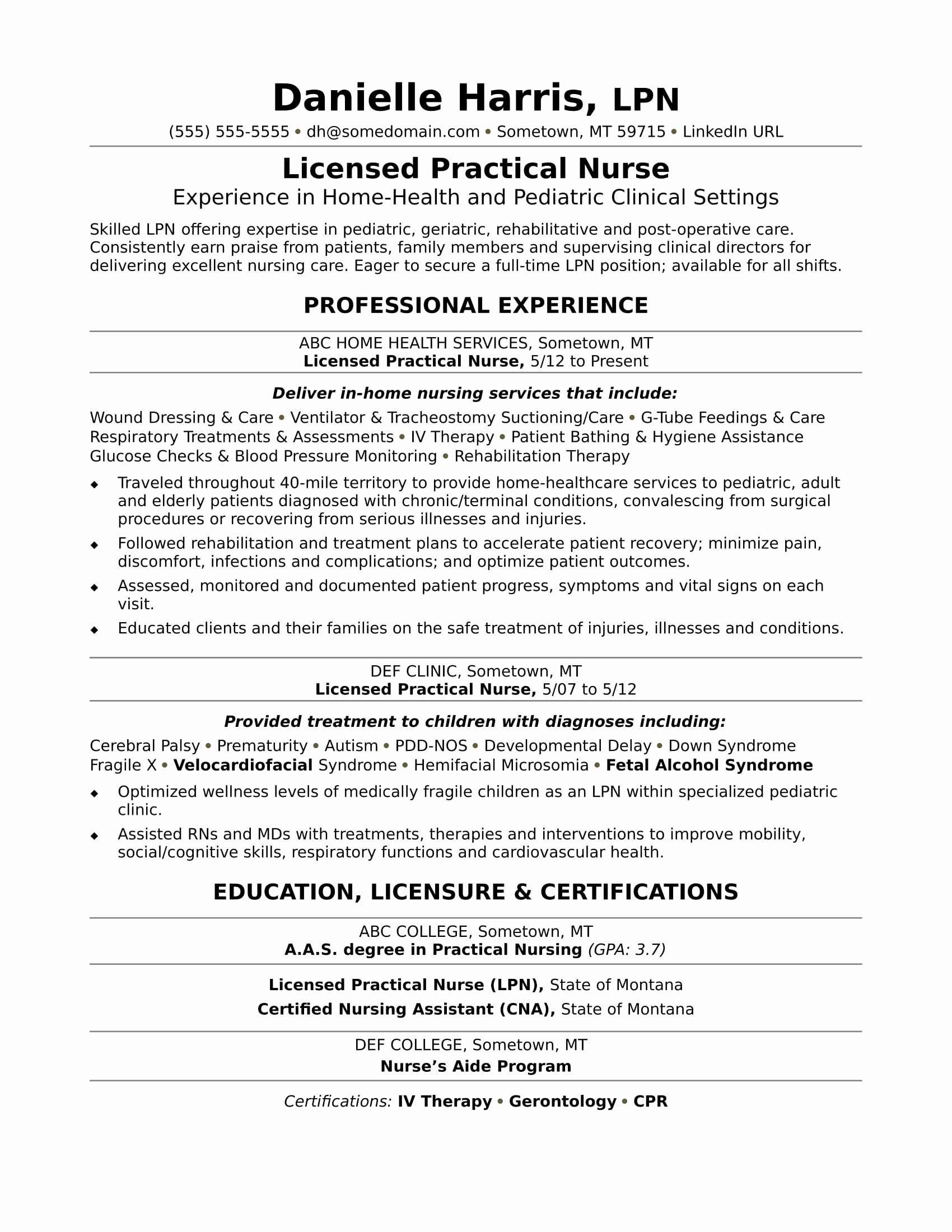 New Grad Rn Resume Unique New Graduate Rn Resume
