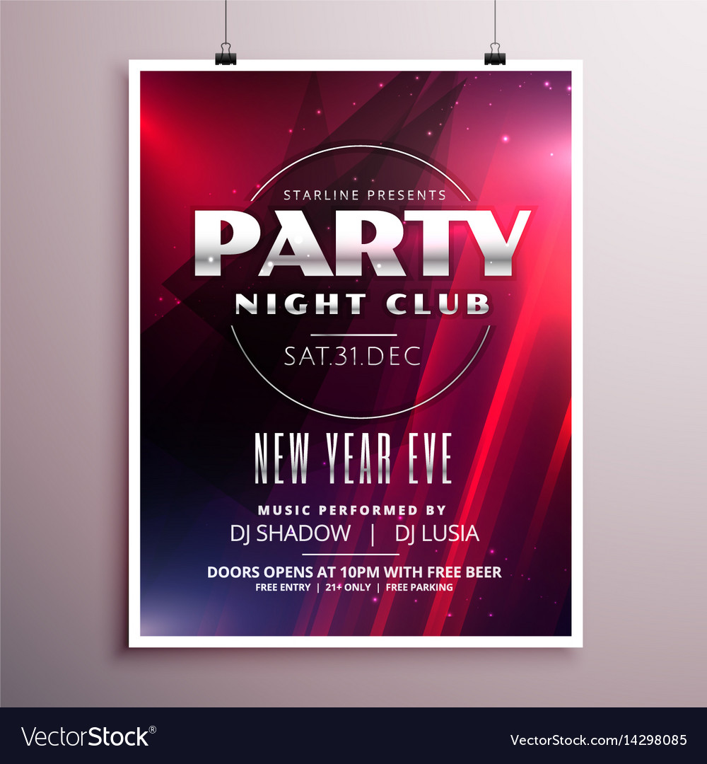 Nightclub Party Flyer Templates