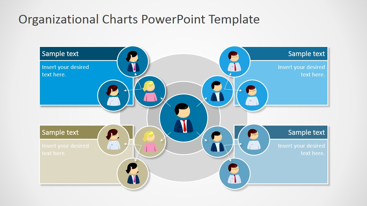 Organization Chart Powerpoint Template Free