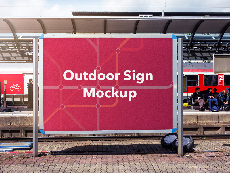 Outdoor Banner Template Psd