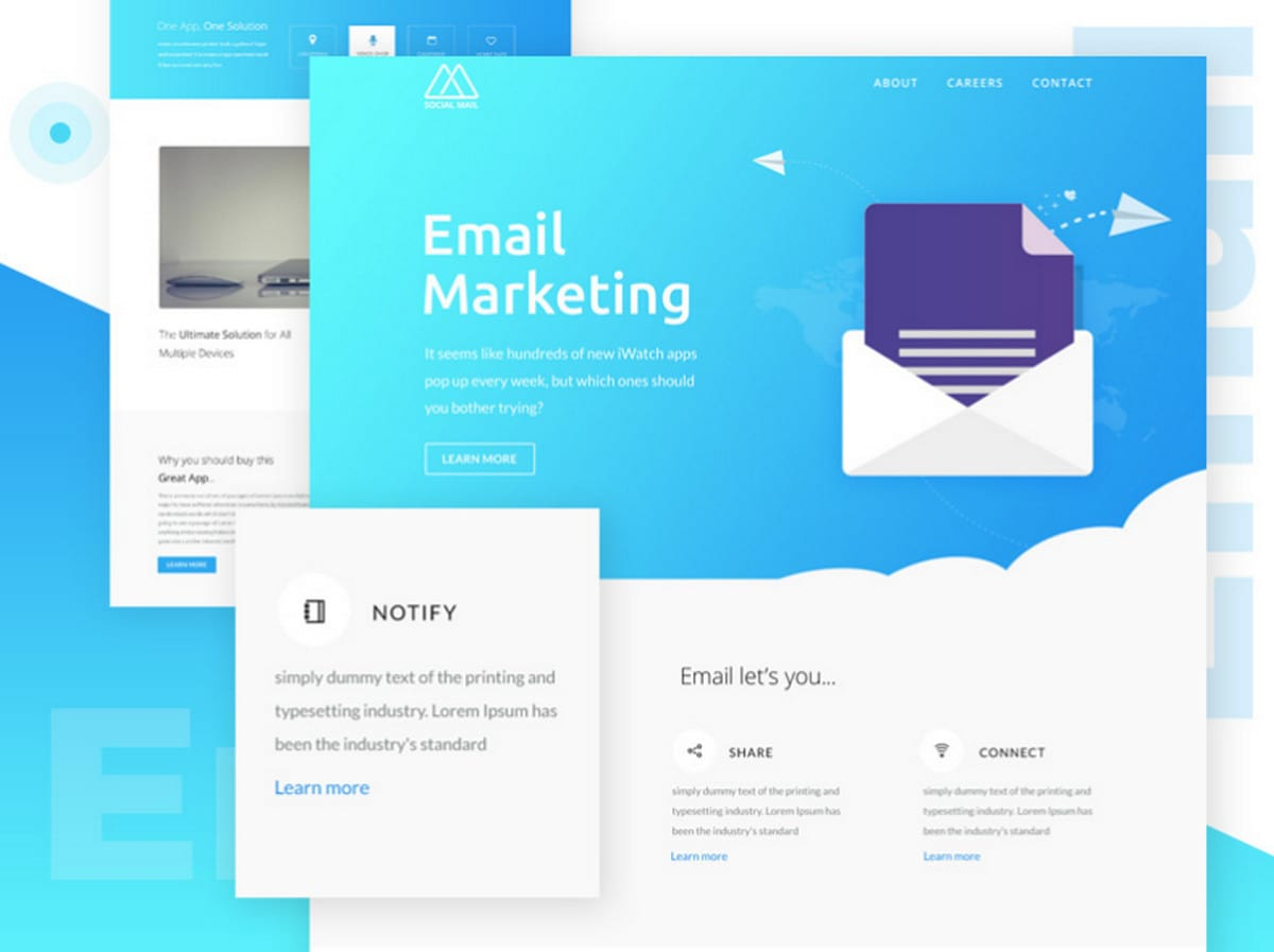 Outlook Email Newsletter Template Free