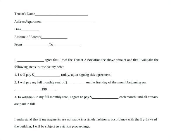Payment Arrangement Debt Settlement Agreement Template