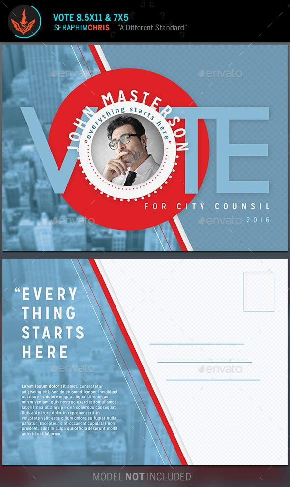 Political Mailer Template