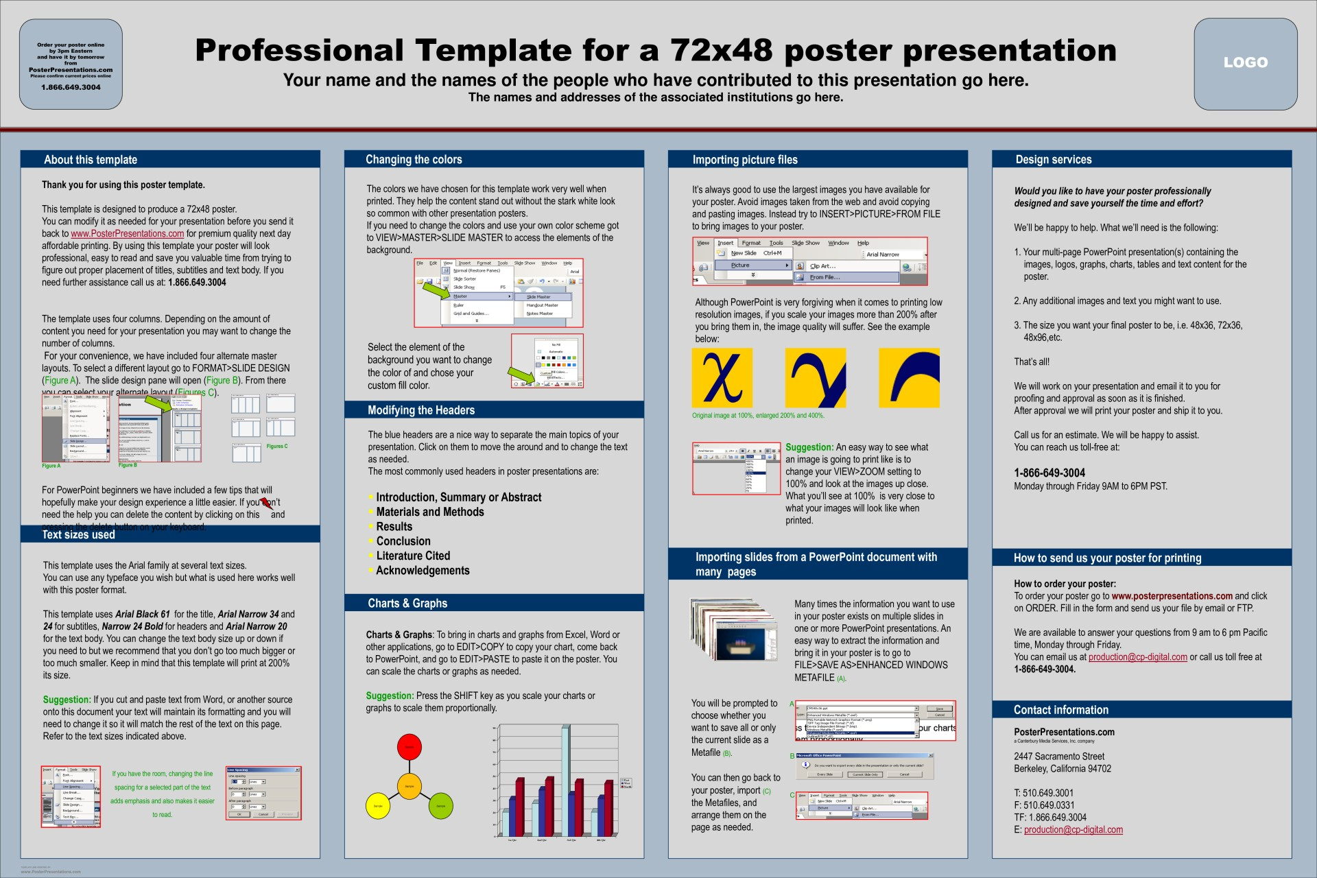 Poster Presentation Template Download