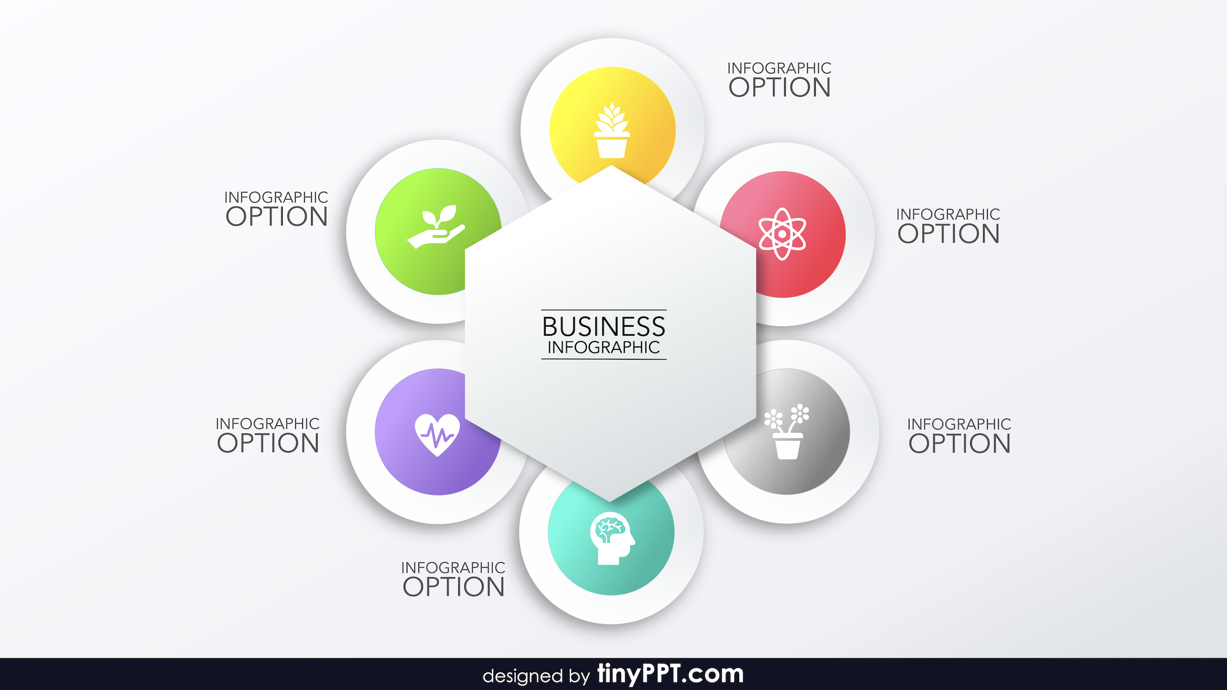 Powerpoint Smartart Cycle Templates