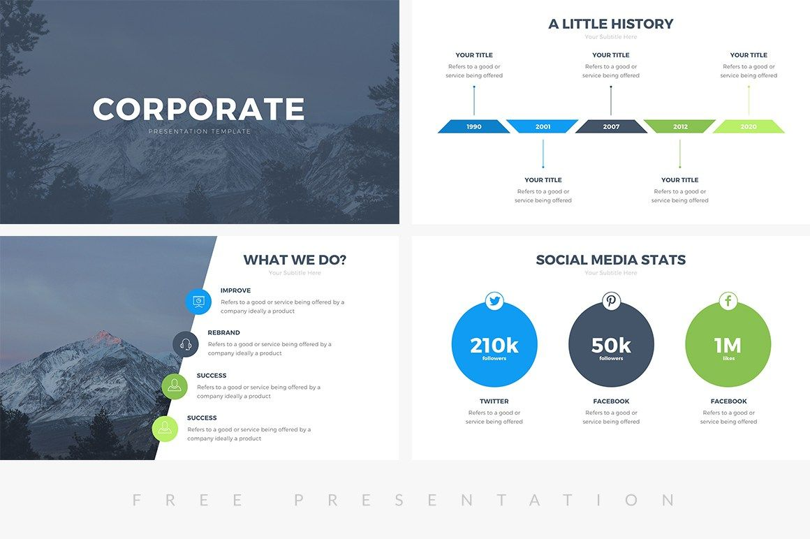 Ppt Presentation Templates Professional