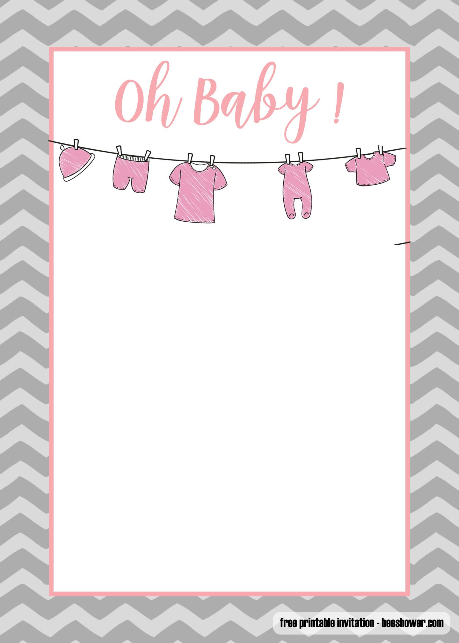 Printable Baby Shower Invitations Templates
