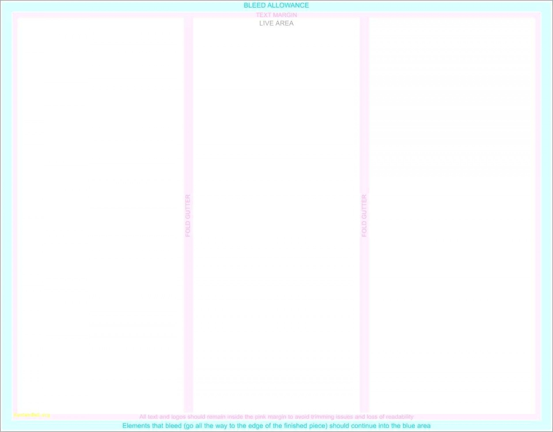 Printable Blank Brochure Templates Free Download Word