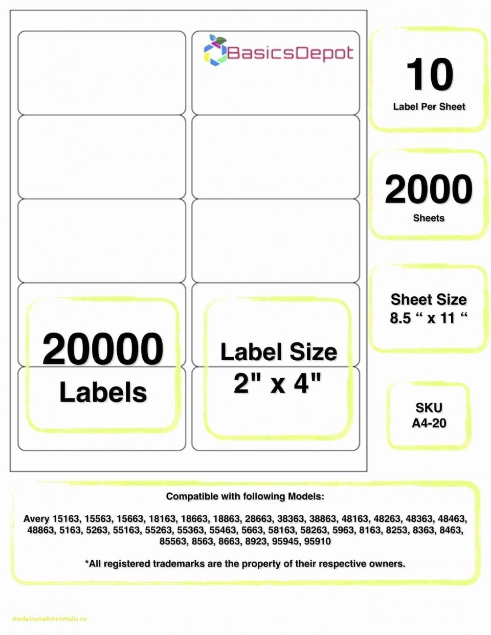 Quill Label Template For Word