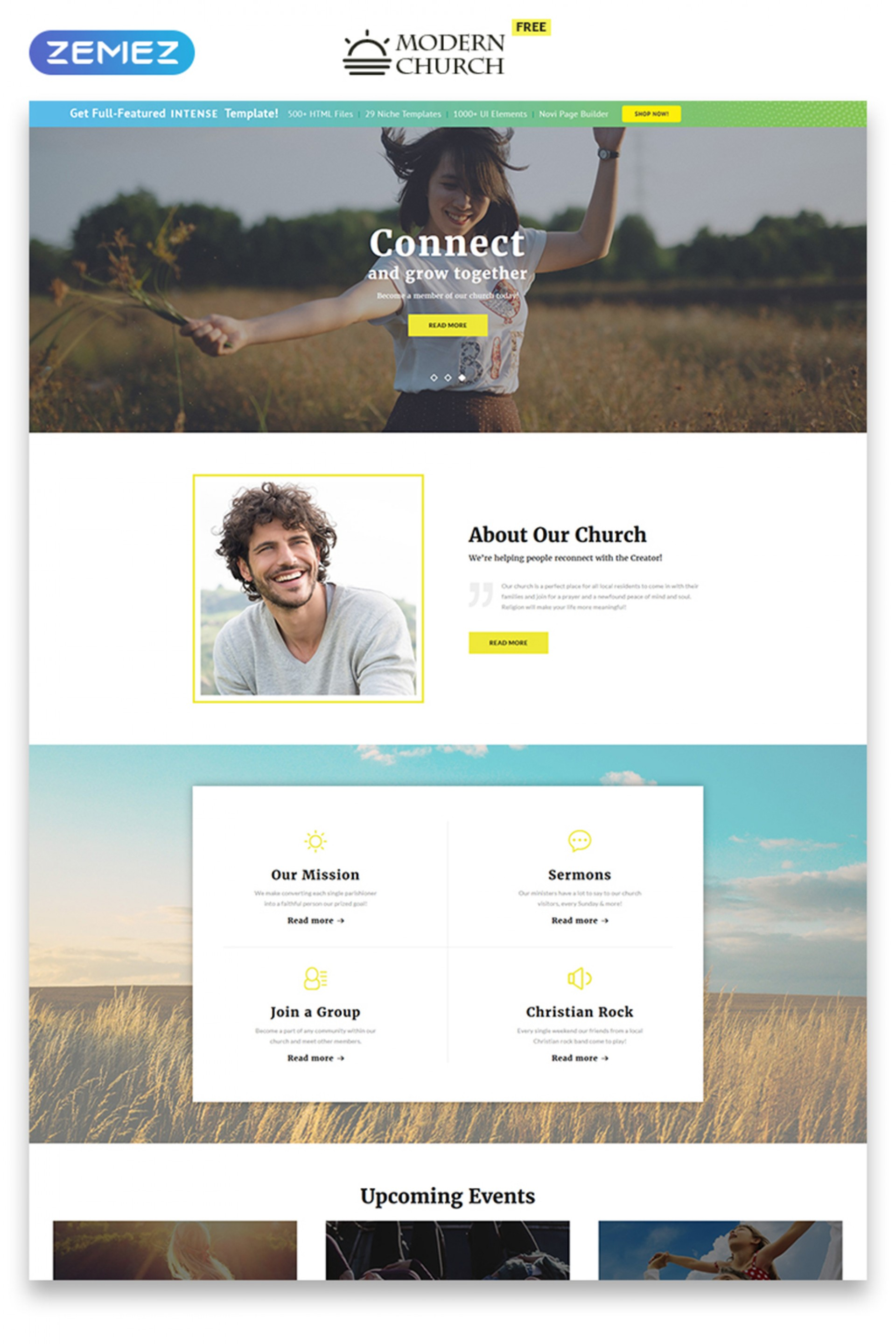 Religious Website Templates Free Download
