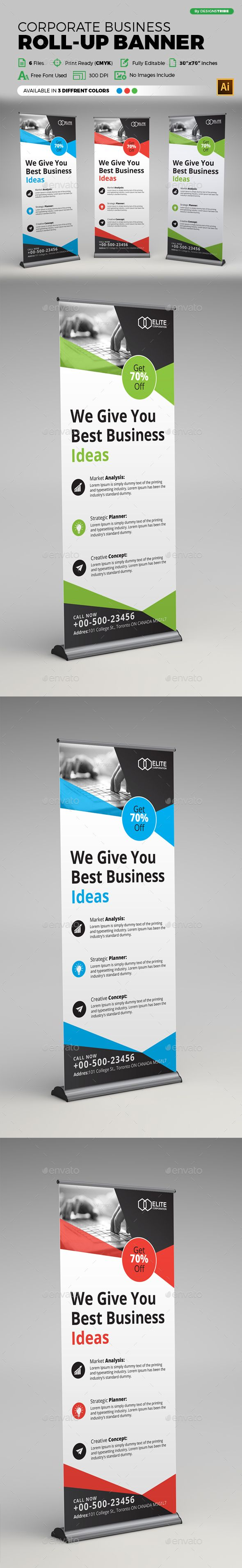 Retractable Banner Design Templates