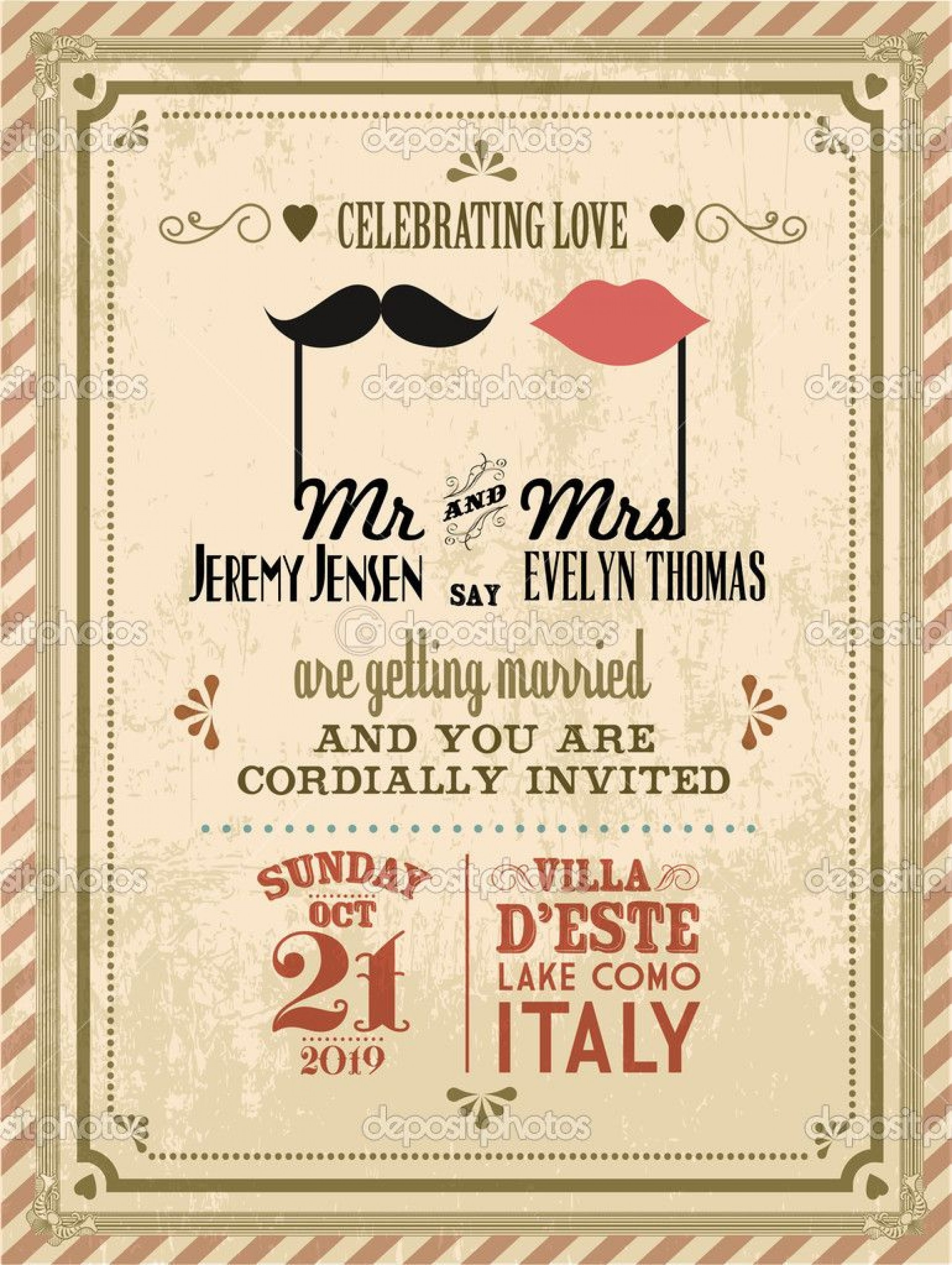 Retro Invitation Templates Free