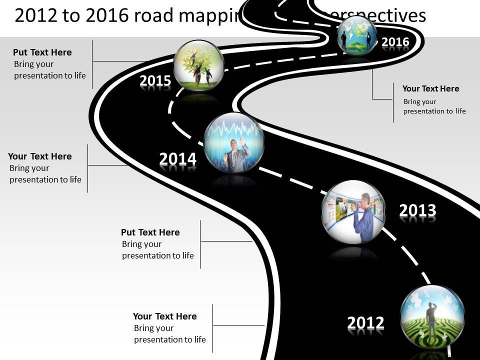 Roadmap Presentation Powerpoint Template Free