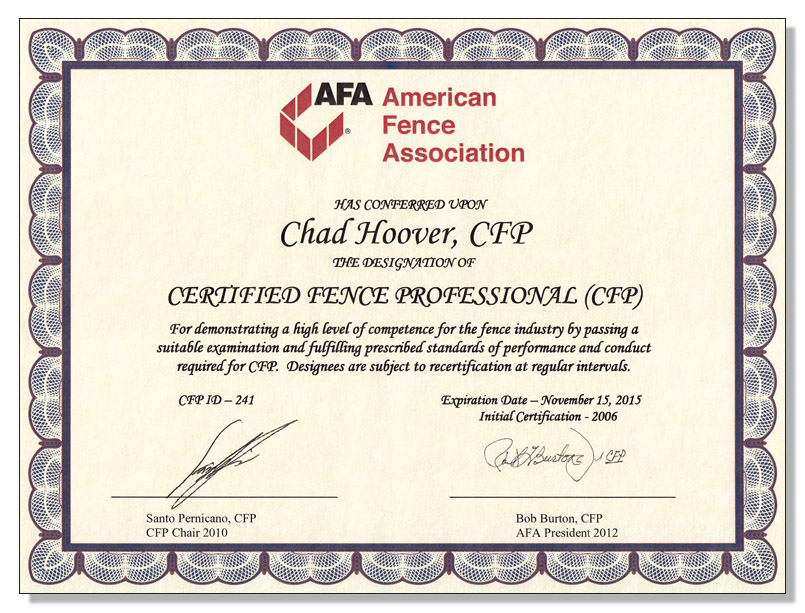 Roof Certification Template Word