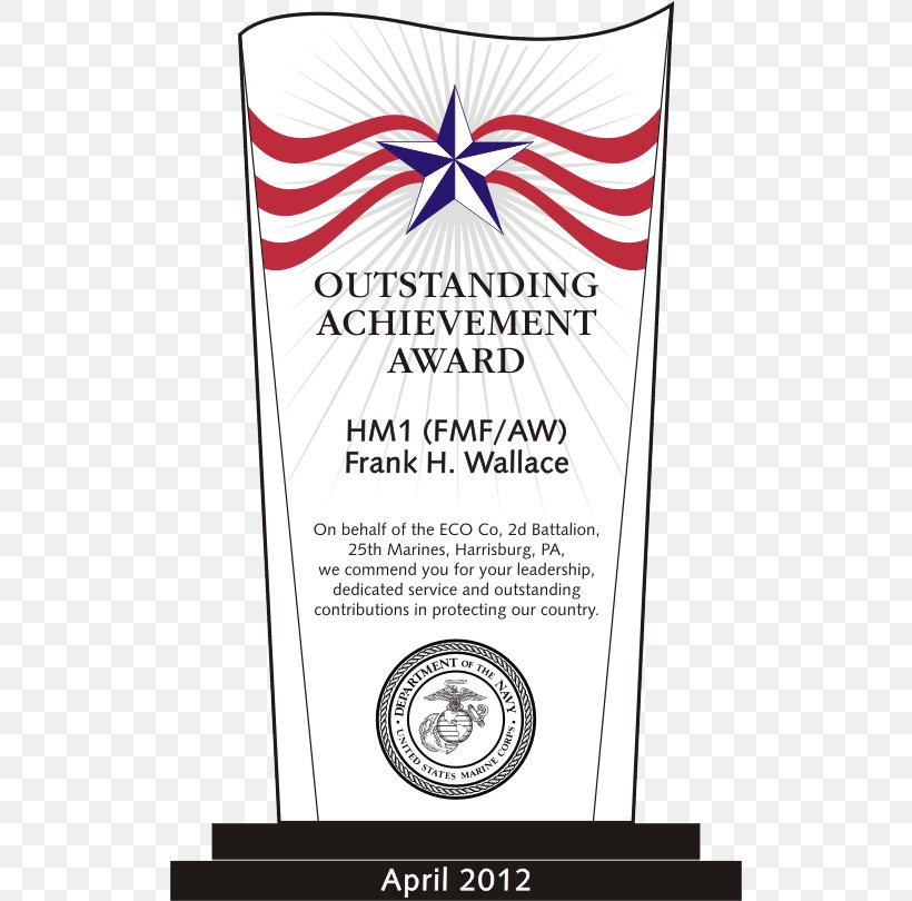 Service Award Plaque Template