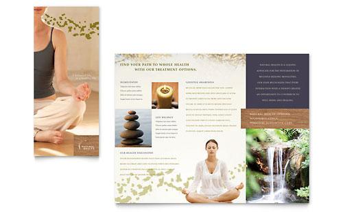 Spa Brochure Templates