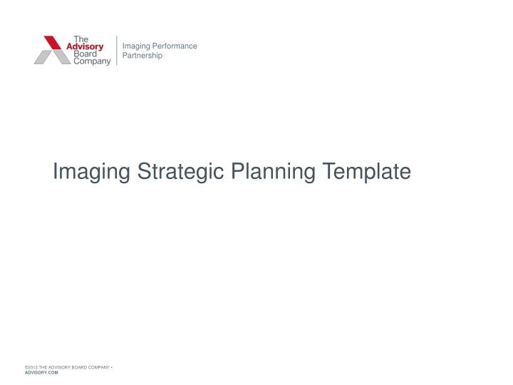 Strategic Planning Template Ppt Free Download