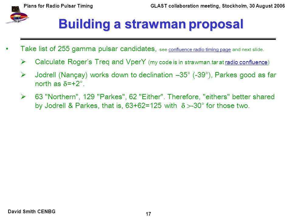 Straw Man Proposal Template