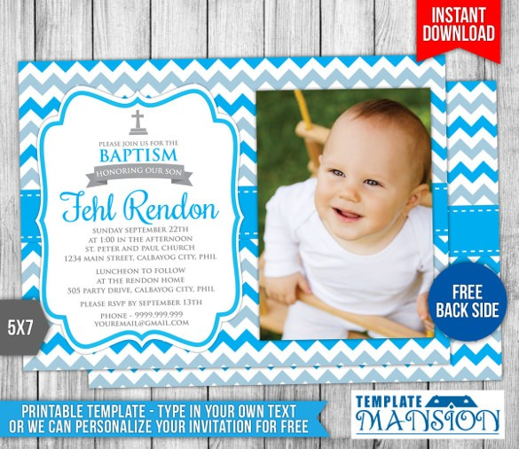 Free Printable Baptism Invitations New Downloadable Baptismal Invitation ? Orderecigsjuicefo