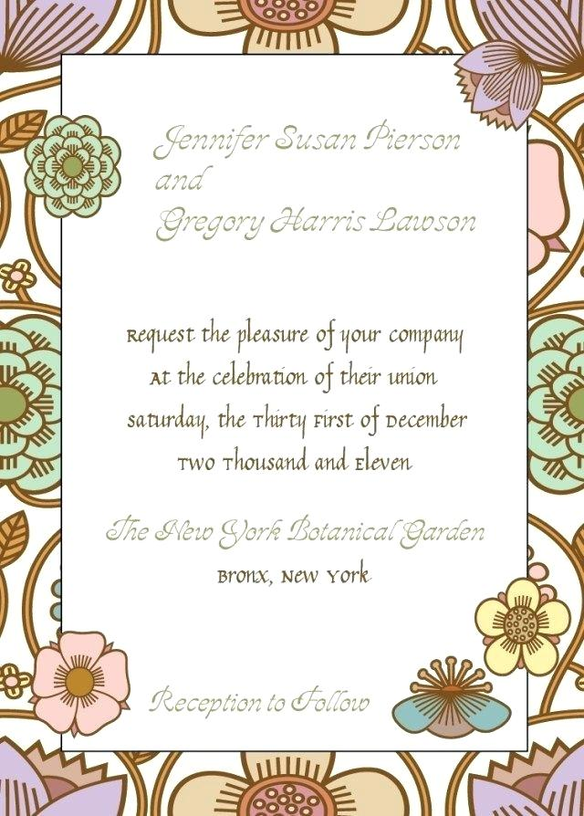 Template Medieval Invitation Wording
