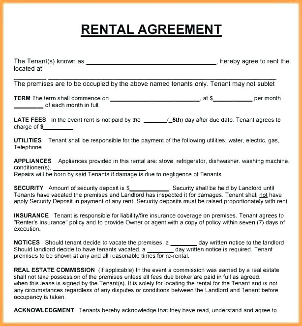 Template Real Estate Agent Commission Agreement Sample