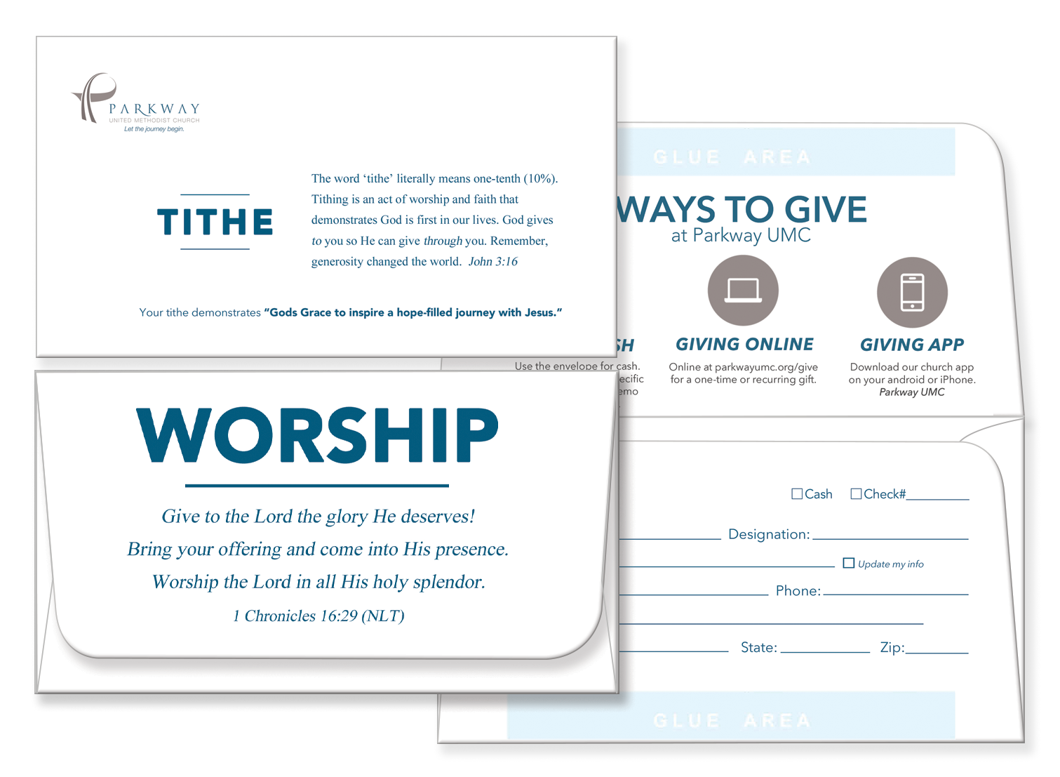 Tithing Envelopes Template