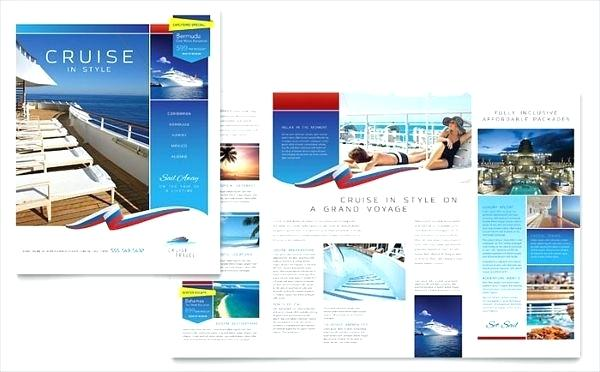 Travel Booklet Template Word