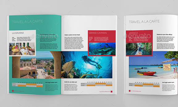 Travel Booklet Template