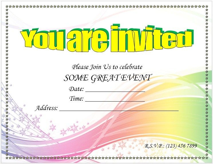 Trip Invitation Templates
